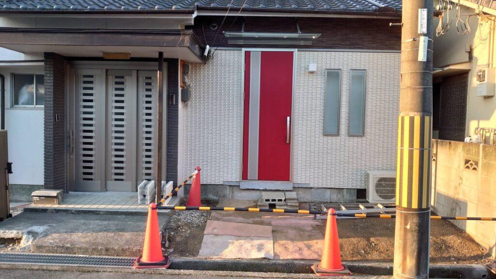 姫路市某邸 玄関リフォーム