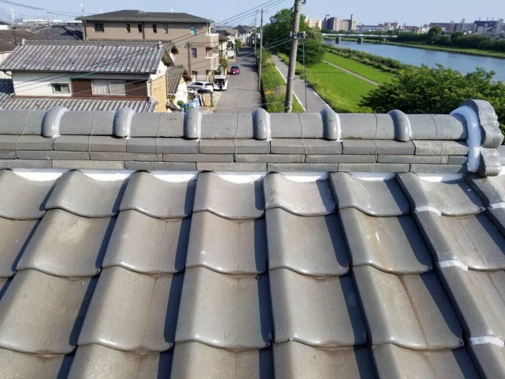 姫路市某邸 屋根補修工事