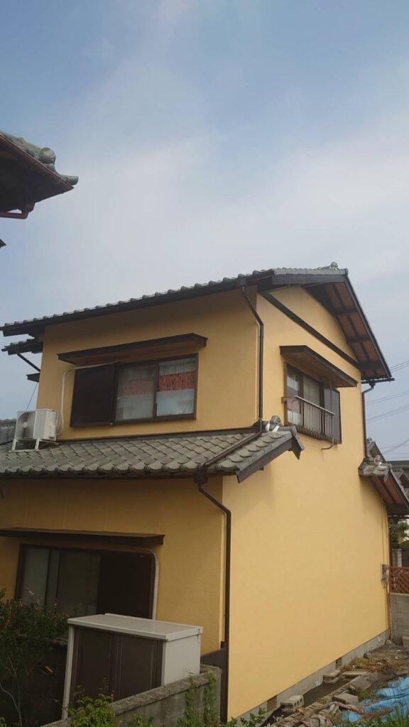 姫路市某邸 外壁塗装工事